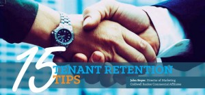 15 Tenant Retention Tips