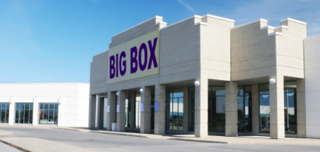 Demand for big-box space is up