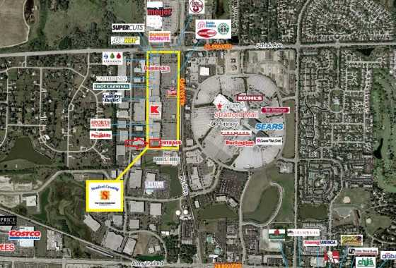 1.1 Acre Retail Out-Lot For Sale Stratford Crossing Mall Bloomingdale IL1